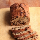Buttermilk raisin cake