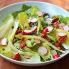Gutsy lettuce salad