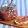 Rhubarb beer jam