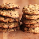 Speculaas spice chocolate chip cookies
