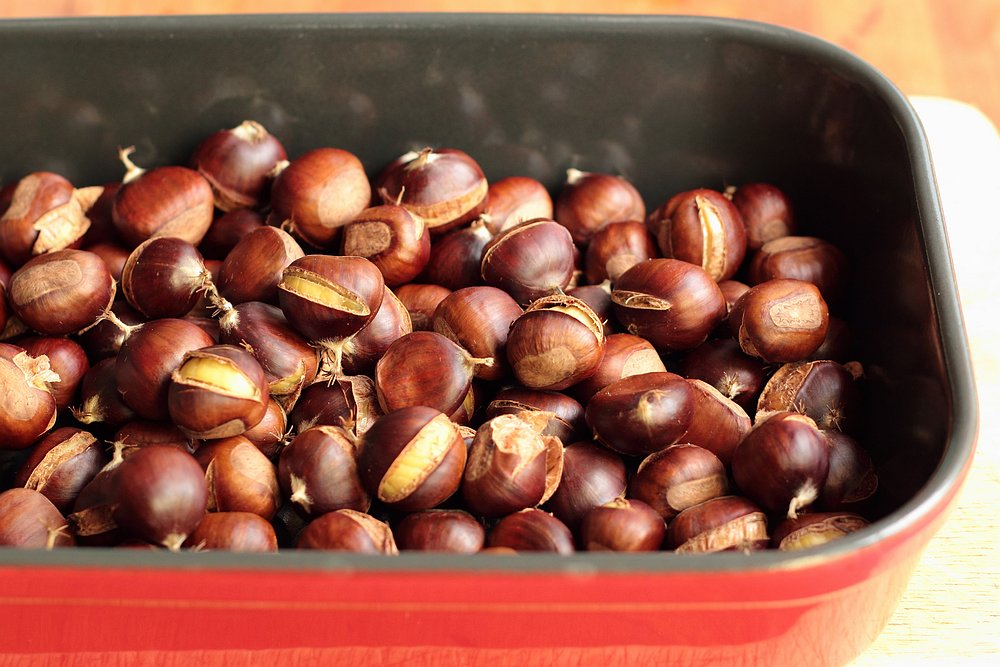Roasted chestnuts | grown to cook