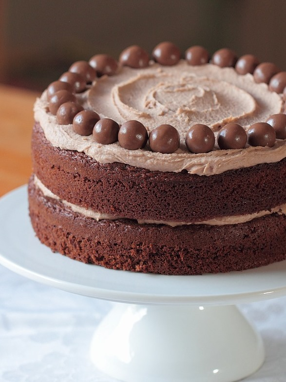 Nigella Chocolate Malteser Cake