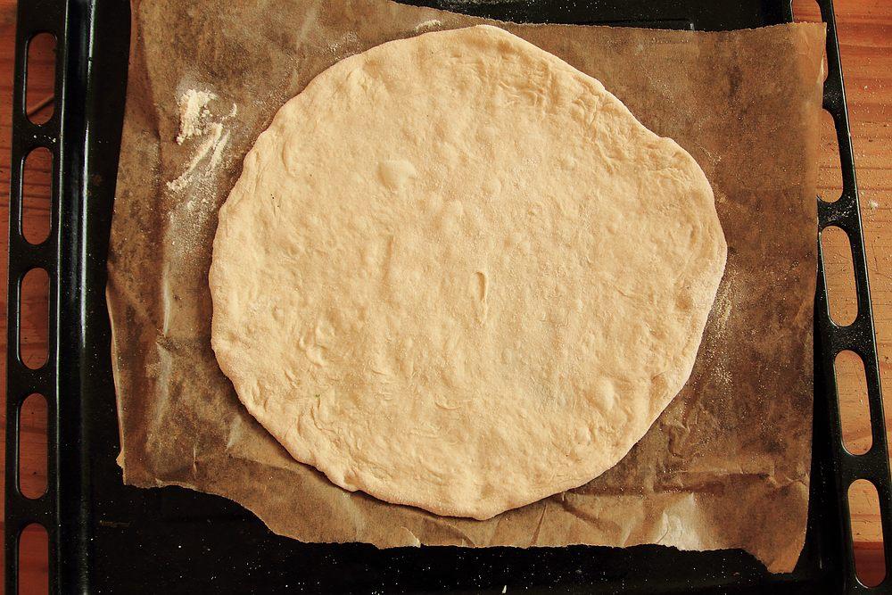 No-knead pizza dough | grown to cook
