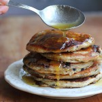 Elderberry buchwheat pancakes